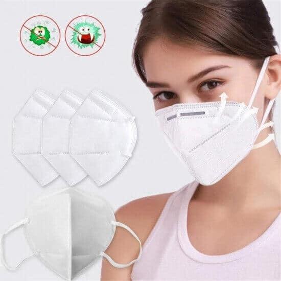 Μάσκα FFP2/KN95 με 4 επίπεδα προστασίας.